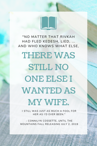 No Matter that Rivkah had fled Kedesh, lied, ... and who knows what else,