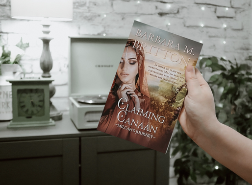 Claiming Canaan: Milcah's Journey by Barbara M. Britton (Book Review)