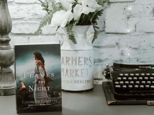 Like Flames in the Night by Connilyn Cossette, Cities of Refuge #4 (Book Review)