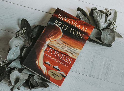 Lioness: Mahlah's Journey by Barbara M. Britton (Book Review)