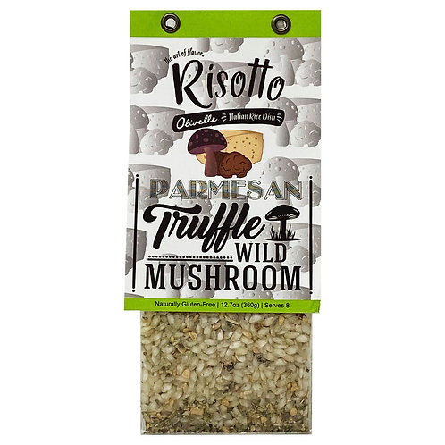 Parmesan Truffle Wild Mushroom Risotto