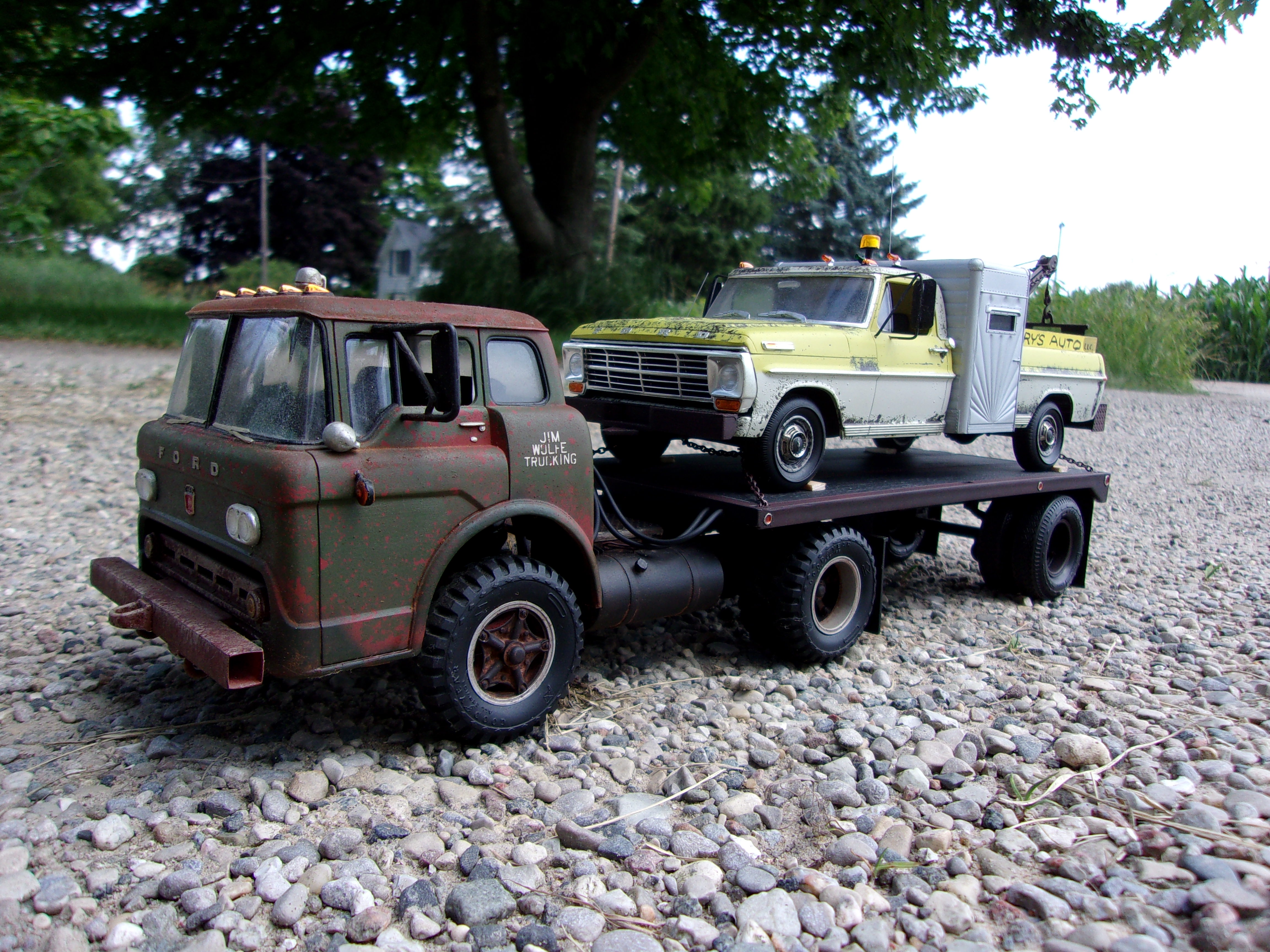 1959 Ford Truck Lowered