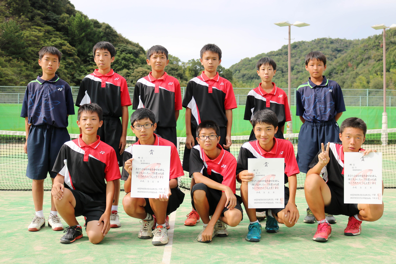ソフトテニス男子_準優勝_土居