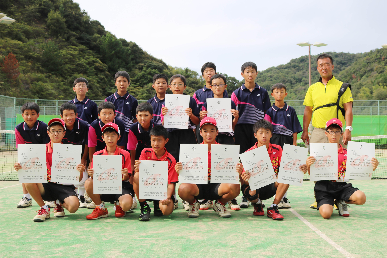 ソフトテニス男子_優勝_三島西