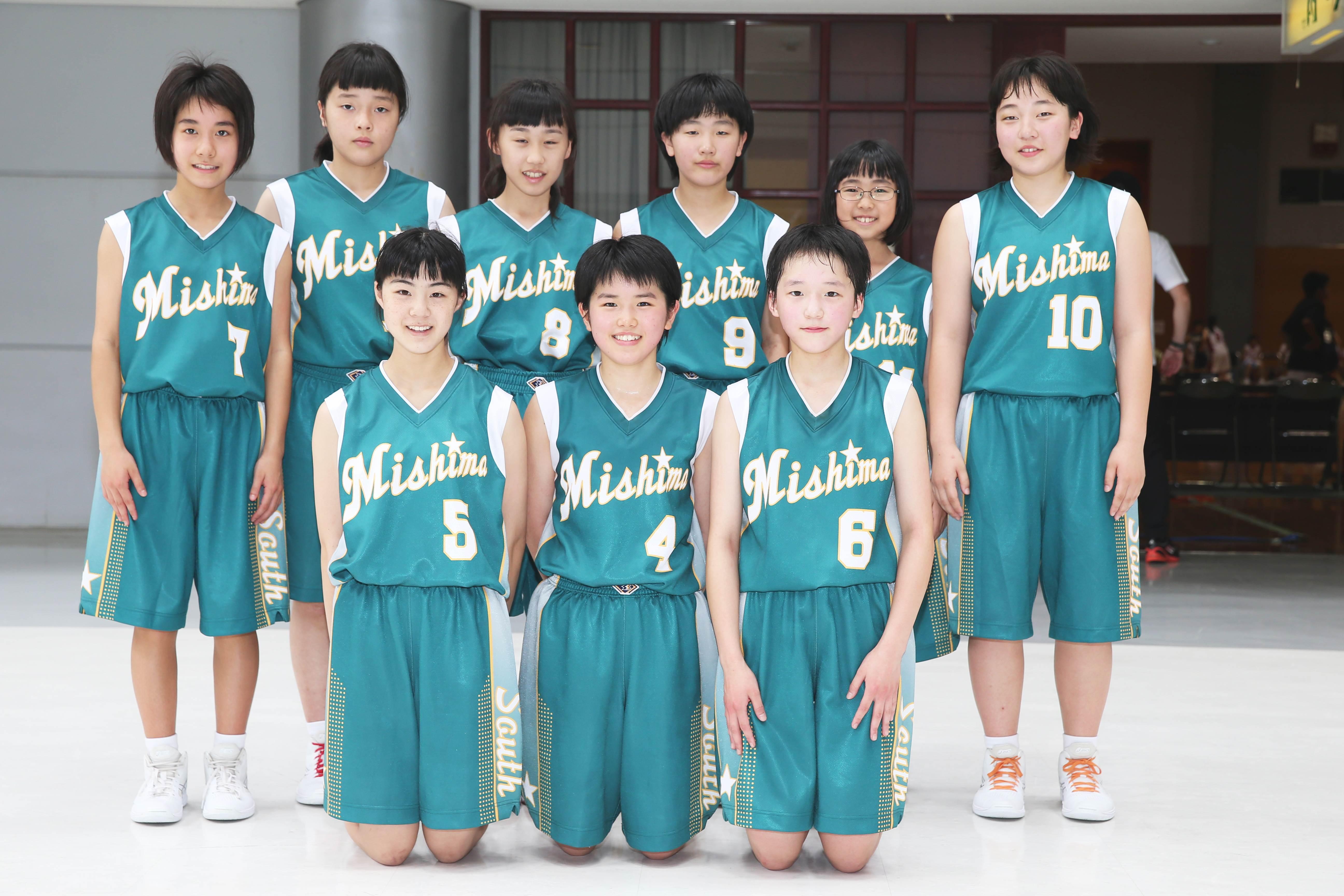 バスケットボール女子_集合_三島南