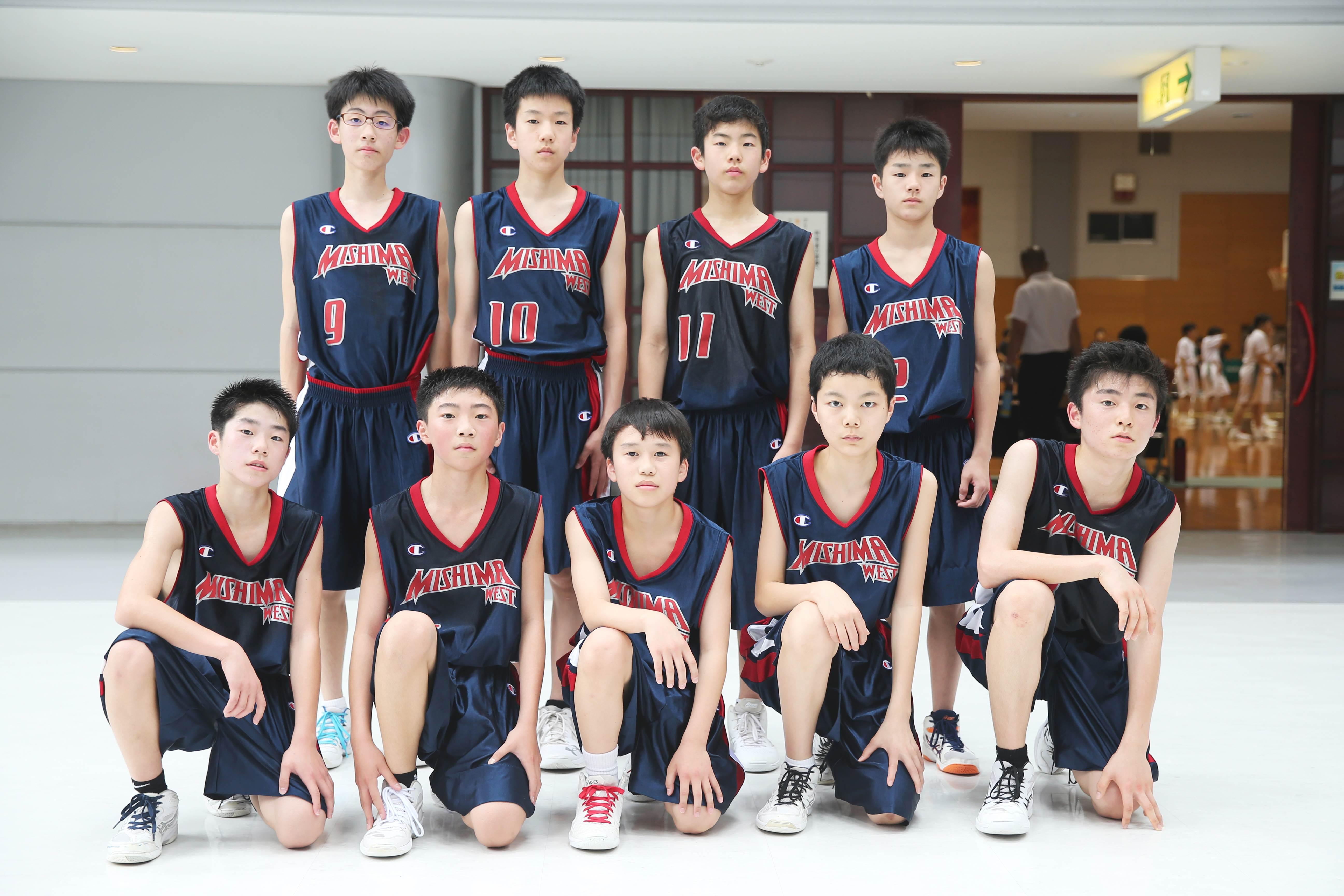 バスケットボール男子_集合_三島西