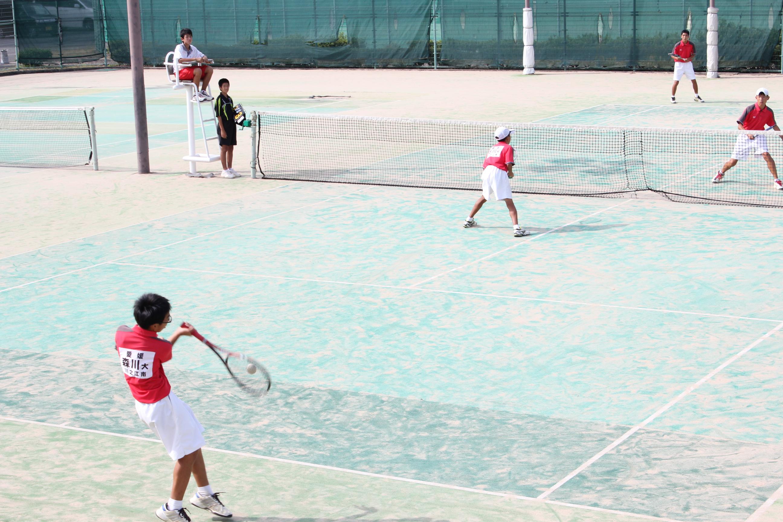 ソフトテニス (9)