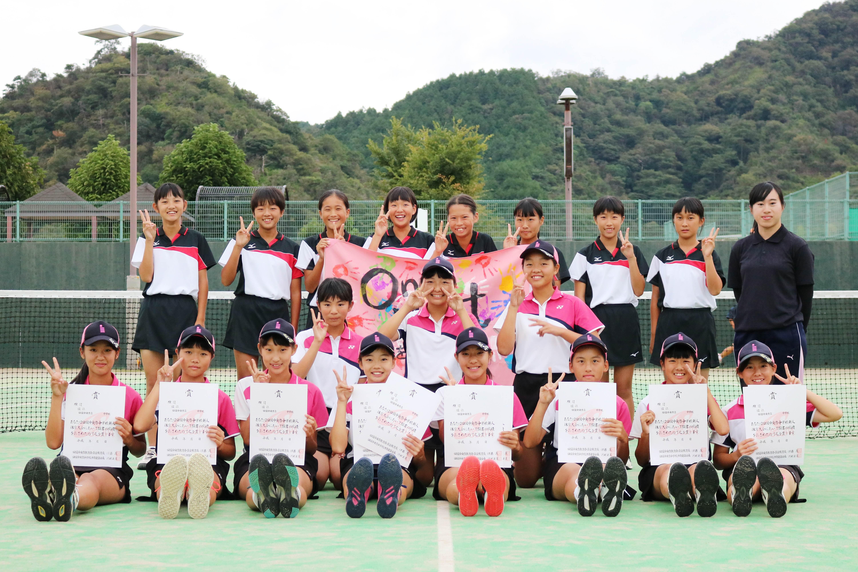 ソフトテニス女子_優勝_三島西