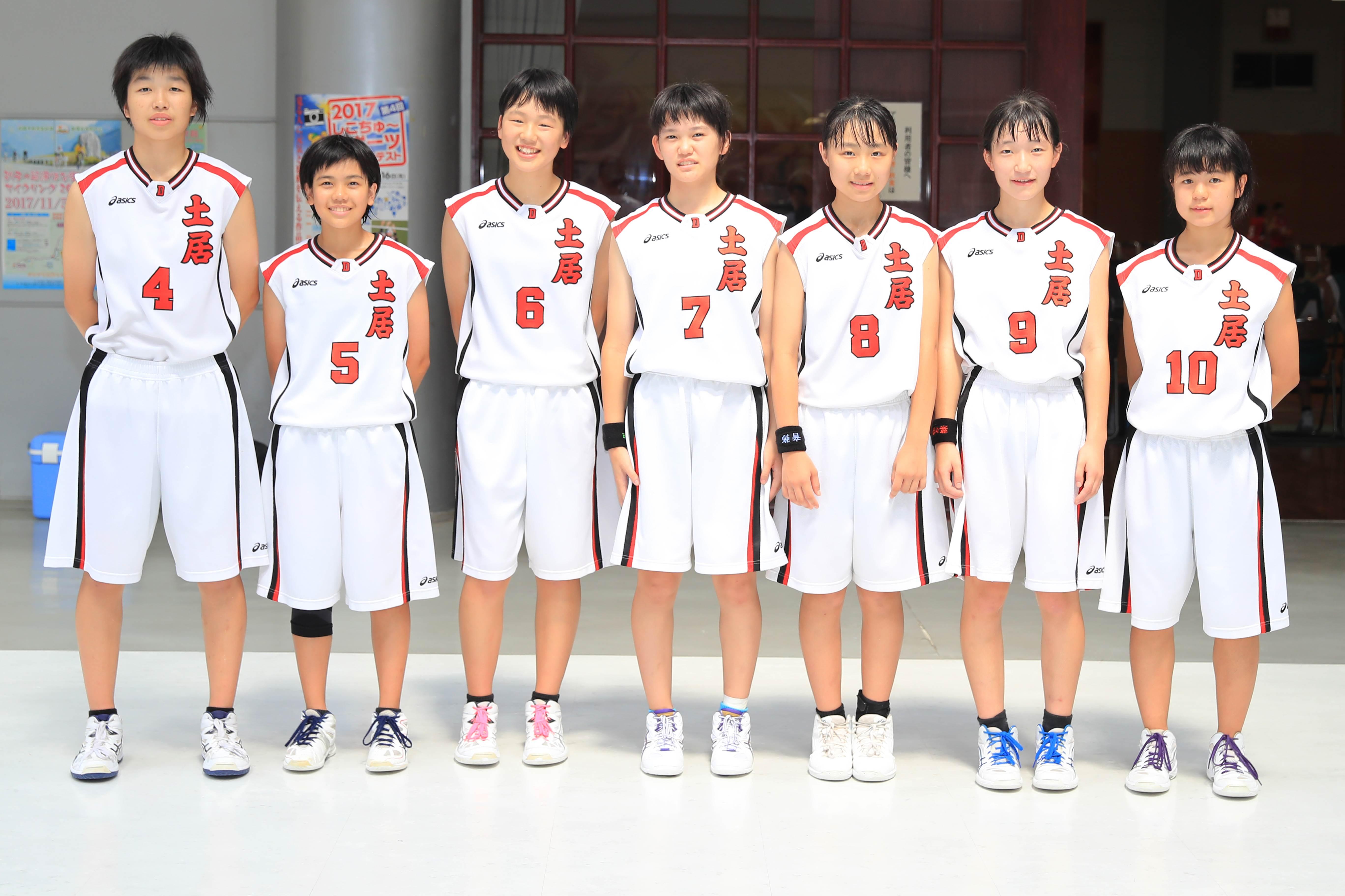 バスケットボール女子_準優勝_土居