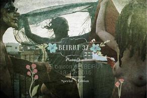 Art & Music event 'EL BALCÓN DEL BEIRUT' (Raval, BCN - 13/12/15)