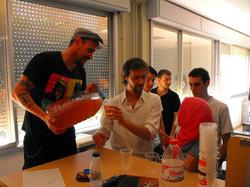en la UAB con Adolfo Torres
