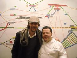 con Axel Manriquez