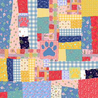 Dog Days Crazy Quilt