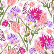Wildflower Scallops