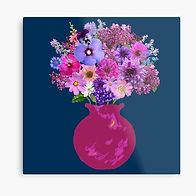 Magenta vase still life on marine.jpg