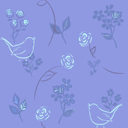 Roses and Wrens in Twilight