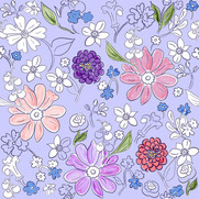 Garden Bounty in Lilac