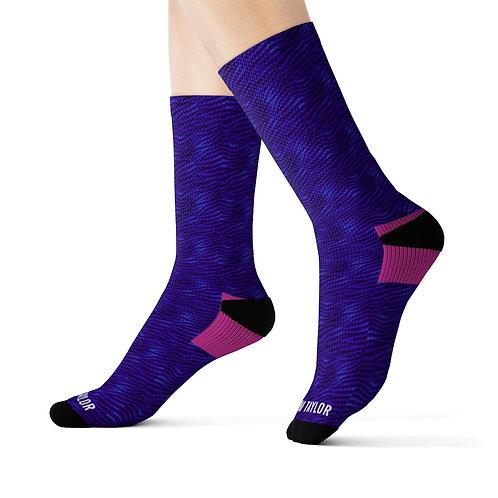 Purple Rain Socks