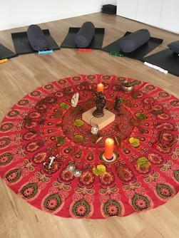 Mandala circle