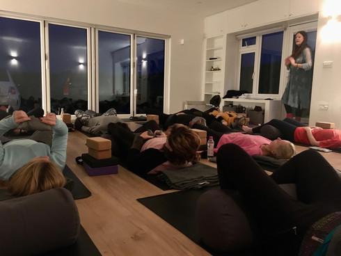 Preparing for Yin Yoga