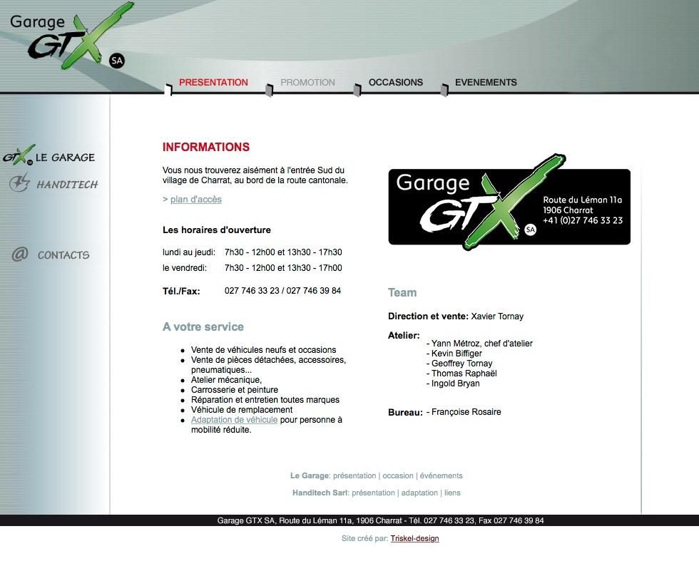 Garage GTX SA