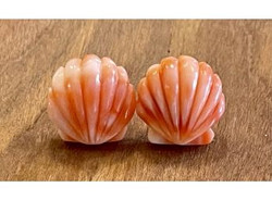 14K Gold Coral Earrings.jpeg
