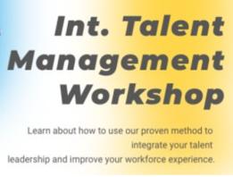 International TMA Talent Management Workshop