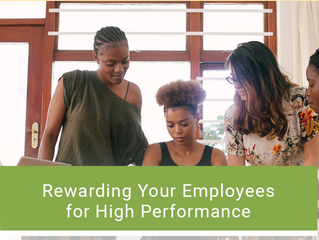 Rewarding Your Employees for High Performance