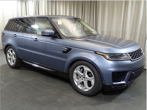2019 LAND ROVER RANGE ROVER SPORT HSE SUV V6 SUPERCHARGED