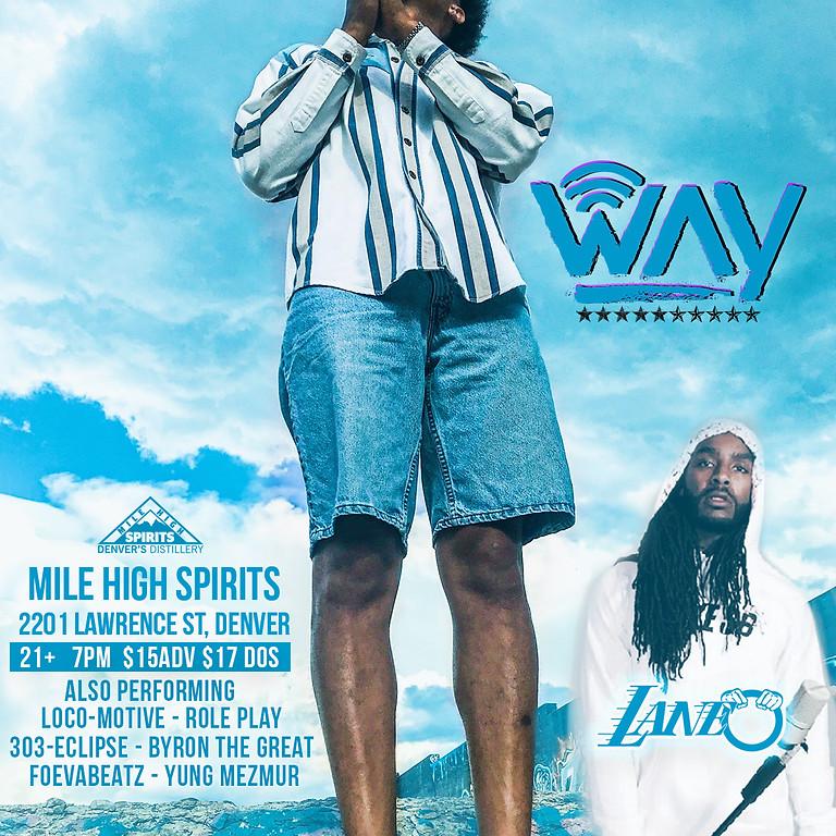 Way and Lane-O - Postponed