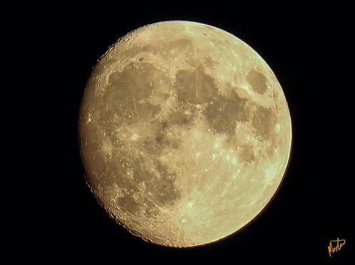 Fullmåne over Tranum strand