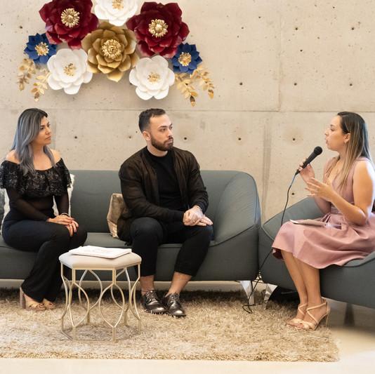Entrevistas, estilista y esteticista