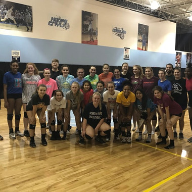 Carolina Chaos Volleyball Family