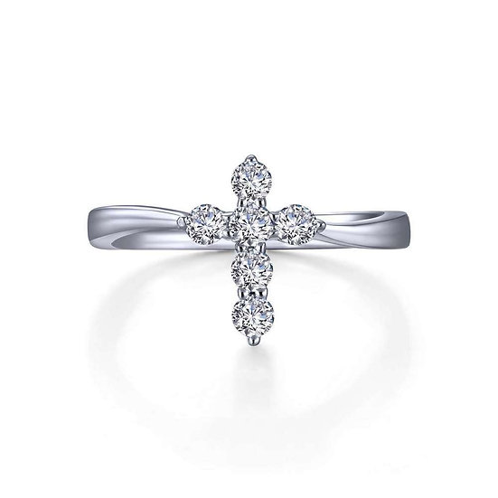 Lafonn Curved Cross Ring