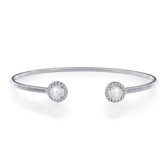 Lafonn Pearl Cuff Bracelet