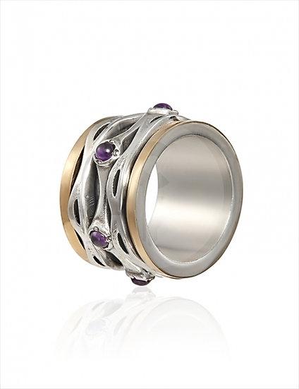 Gabriela Styliano Lilac Amethyst Ring