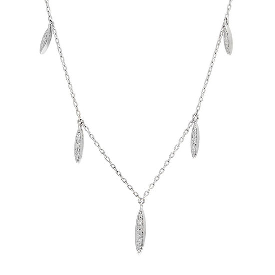 SS and Diamond Necklace