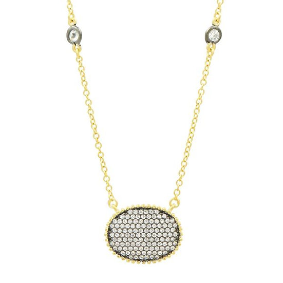 Freida Rothman Pave Necklace