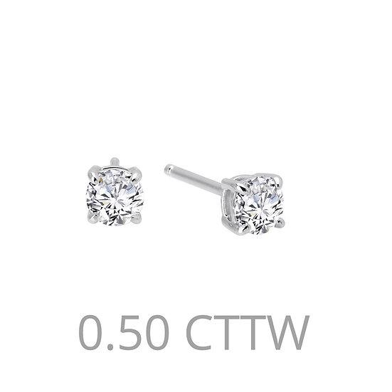 .50 cttw Stud Earrings