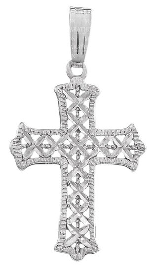 Engraved Cross Necklace