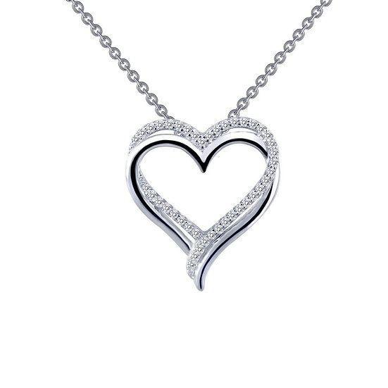 Double-Heart Pendant Necklace