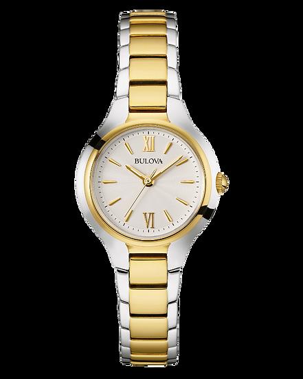 Bulova Classic Womens Gold Stainless Steel Watch