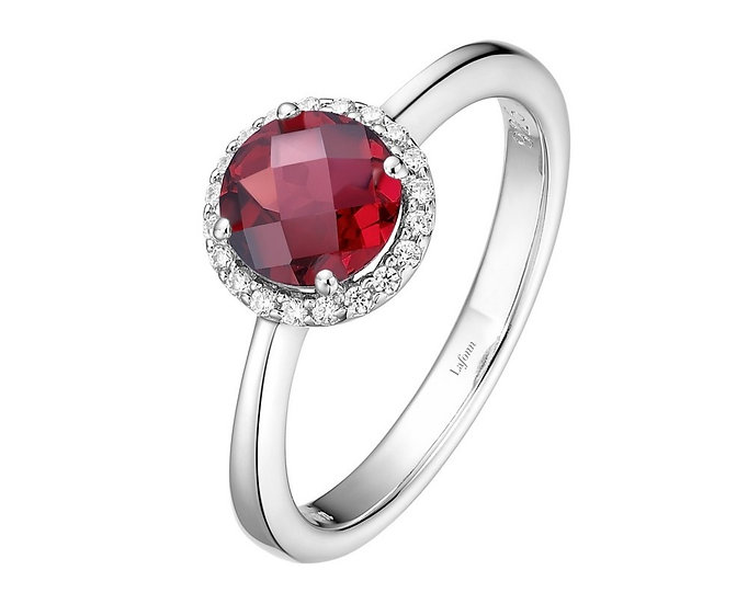 Lafonn Garnet Ring