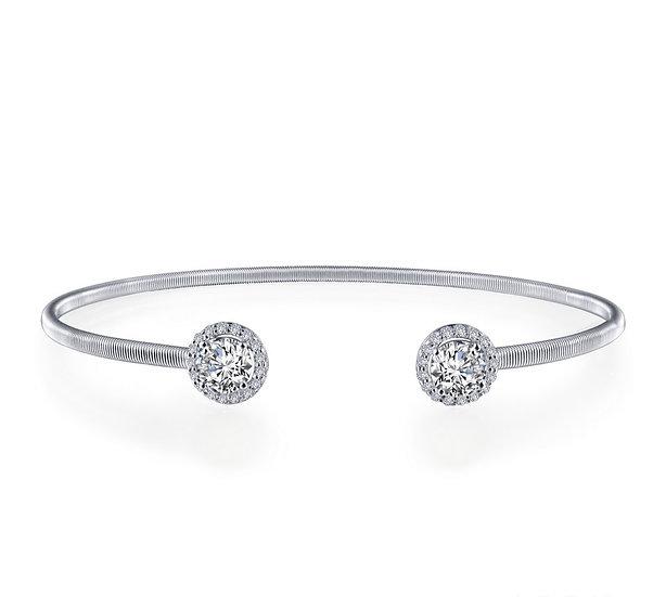 Lafonn Simulated Diamond Cuff Bracelet