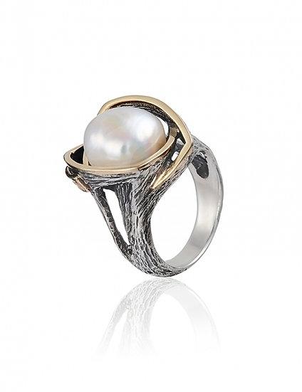 Gabriela Styliano Pearl Ring