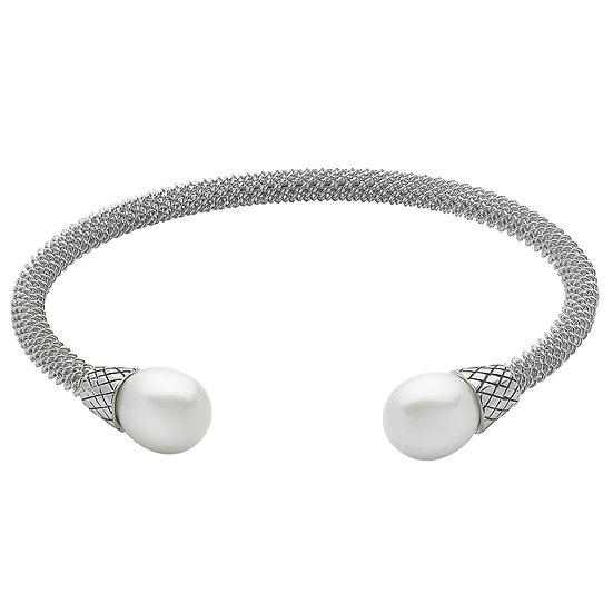 SS FW Pearl Cuff Bracelet