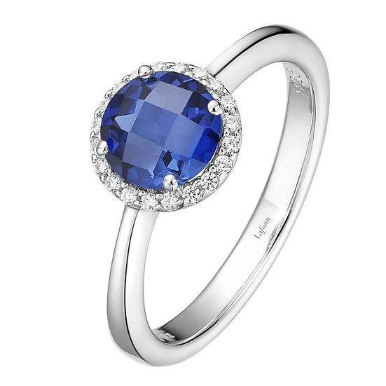 Lafonn Lab Grown Sapphire Ring