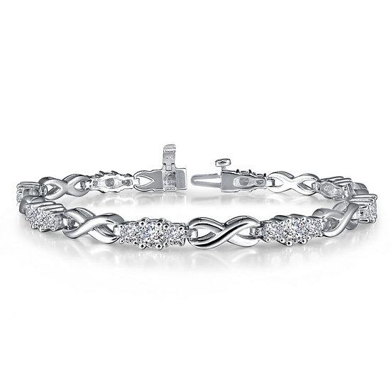 Infinity Alternating Bracelet