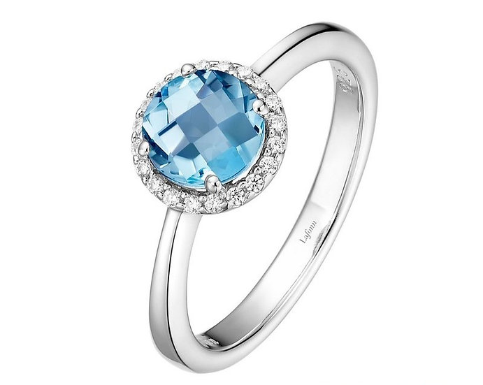 Lafonn Blue Topaz Ring