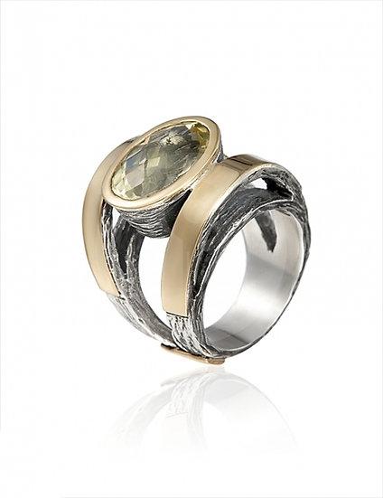 Gabriela Styliano Quartz Ring